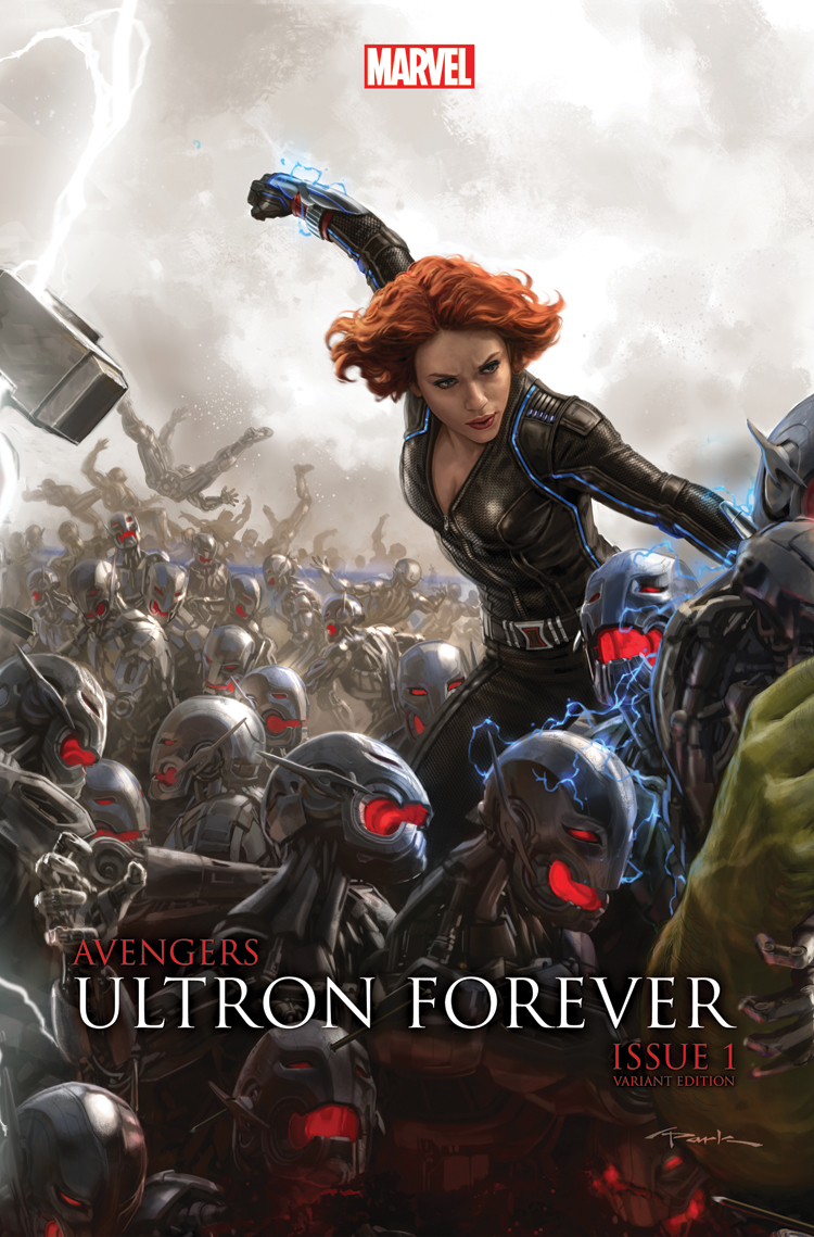 Avengers: Ultron Forever (2015) #1 (Au Movie Connecting Variant B)