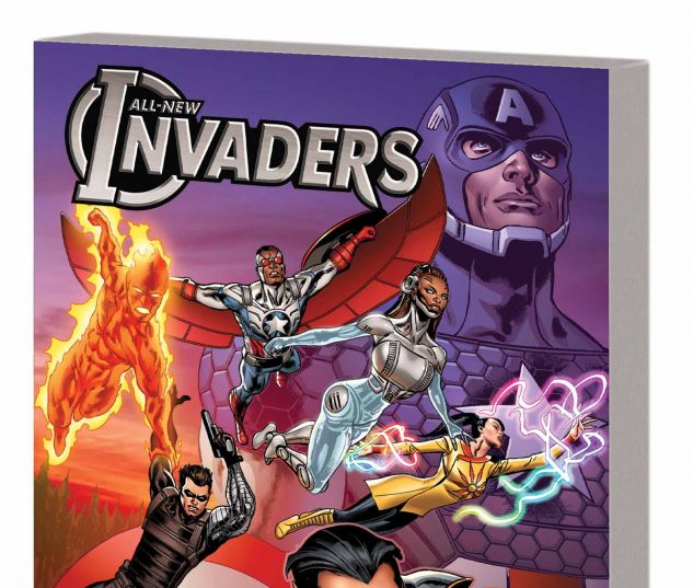 ALL-NEW INVADERS VOL. 3: THE MARTIANS ARE COMING TPB