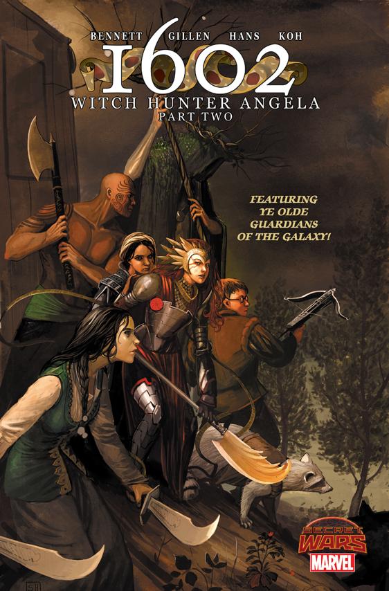 1602 Witch Hunter Angela (2015) #2