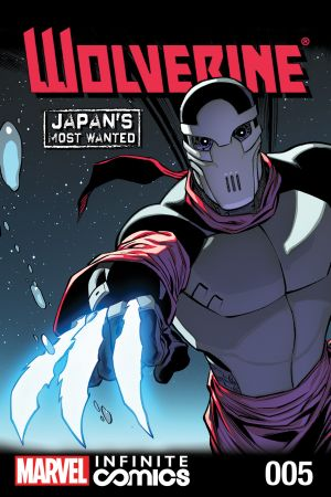 Wolverine: Japan's Most Wanted Infinite Comic (2013) #5
