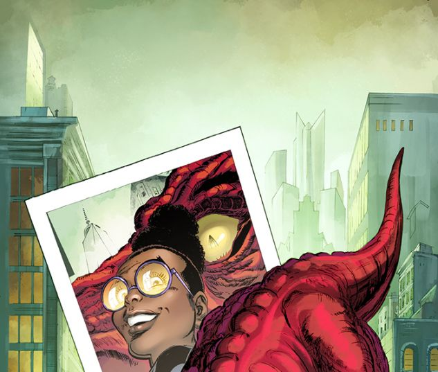 Moon Girl and Devil Dinosaur #1 variant art by Trevor Von Eeden
