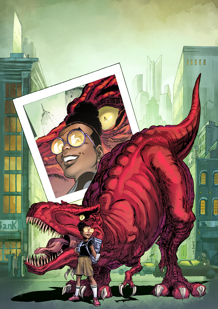 Moon Girl and Devil Dinosaur (2015) #1 (Von Eeden Variant)
