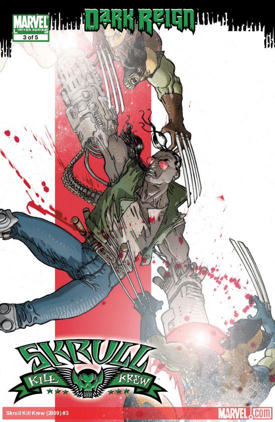 Dark Reign: Skrull Kill Krew (2009) #3