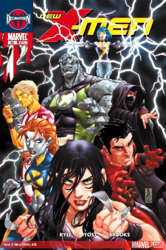 New X-Men (2004) #20