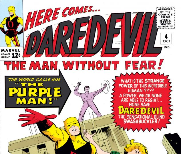 DAREDEVIL (1964) #4 Cover