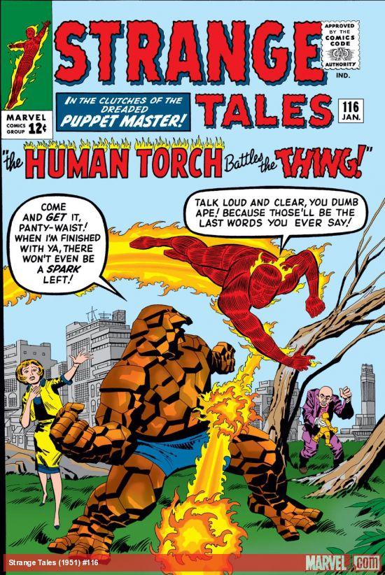 Strange Tales (1951) #116