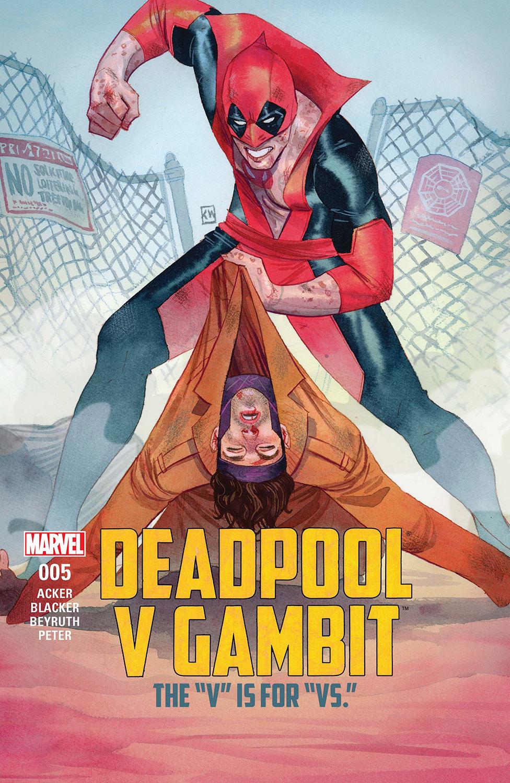 Deadpool V Gambit (2016) #5