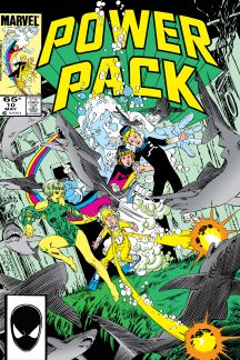 Power Pack (1984) #10