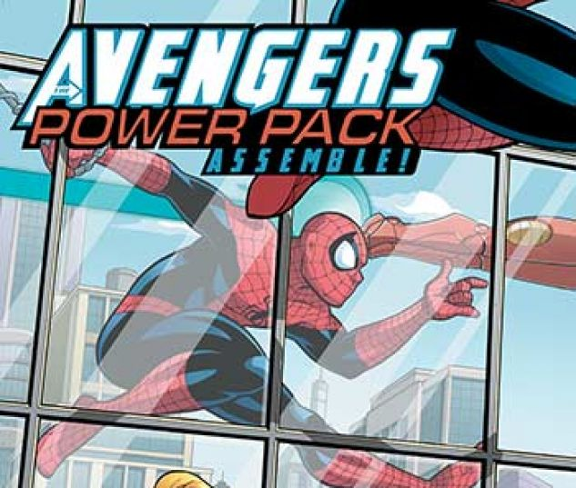 cover from Avengers and Power Pack Infinite Comic (2017) #5