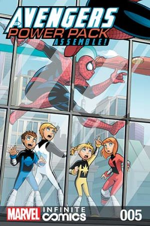 Avengers and Power Pack #5