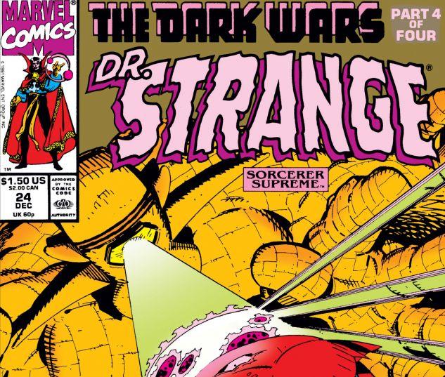 Cover for DOCTOR STRANGE, SORCERER SUPREME 24