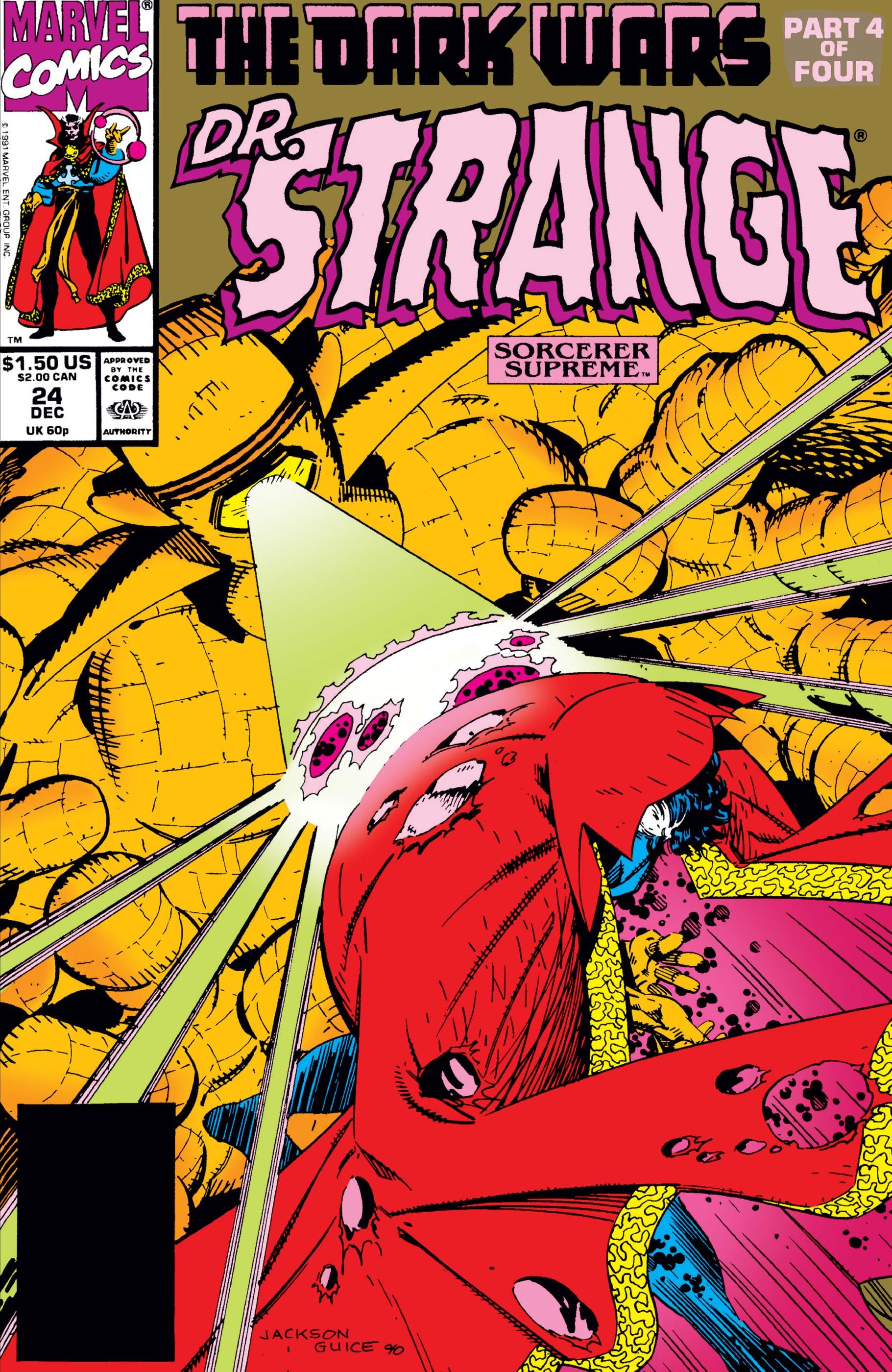 Doctor Strange, Sorcerer Supreme (1988) #24