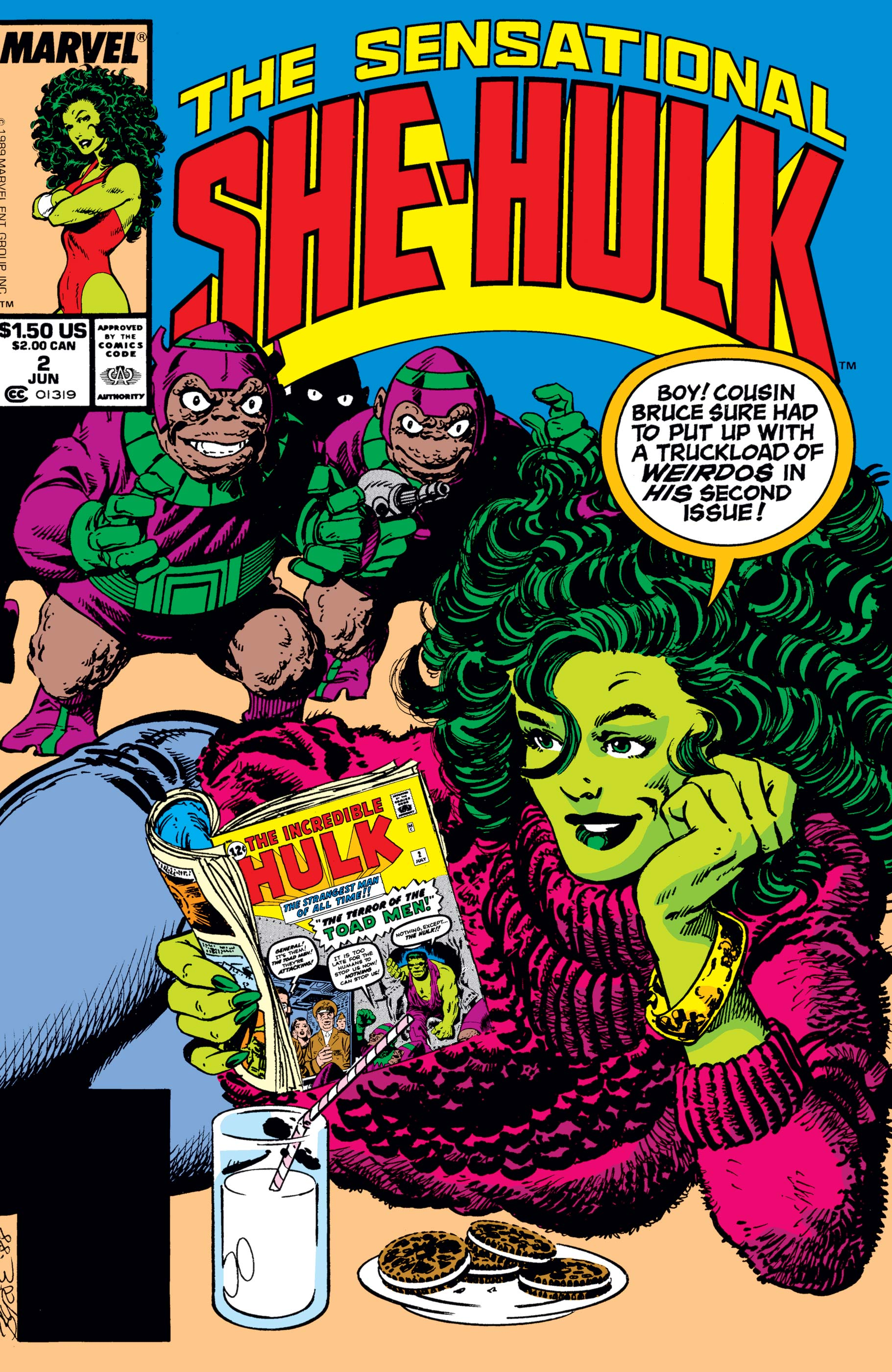 Sensational She-Hulk (1989) #2