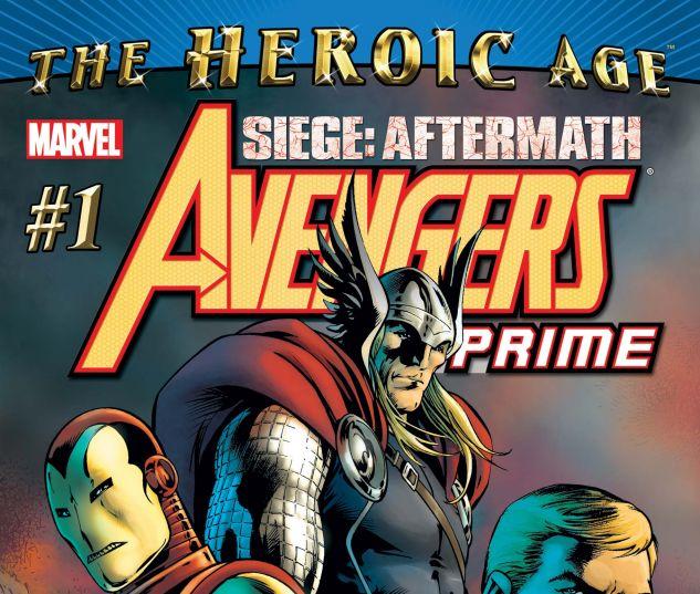 Avengers: Prime (2010) #1