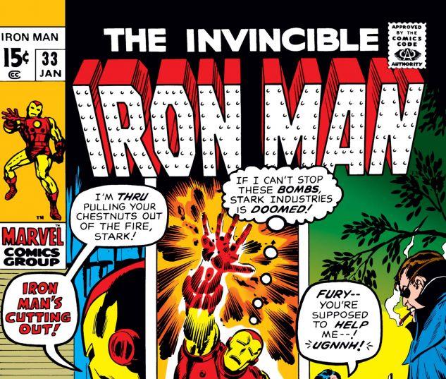 Iron Man (1968) #33