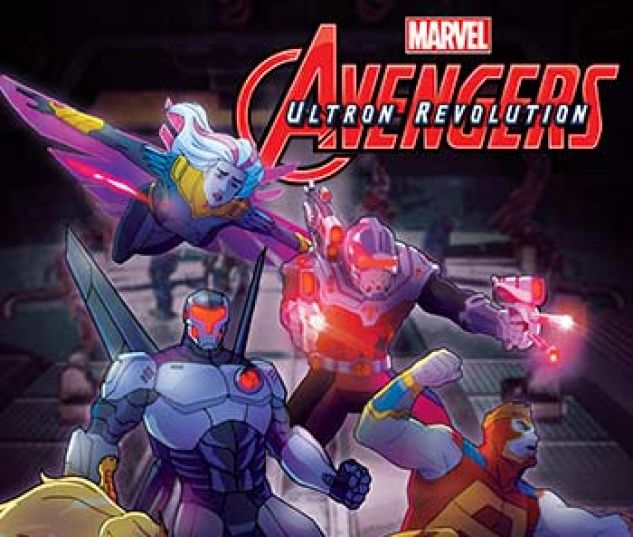 cover from Marvel Universe Avengers: Ultron Revolution (Digital Comic) (2017) #12