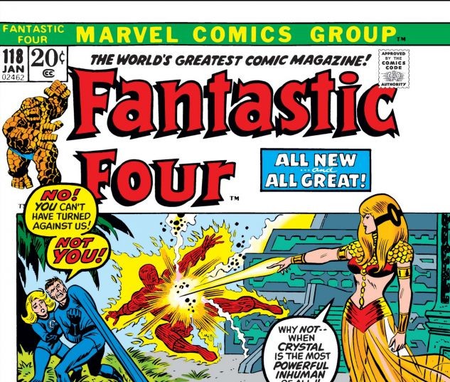 FANTASTIC FOUR (1961) #118