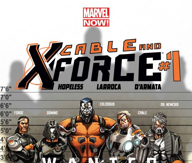 Cable and X-Force (2012) #1