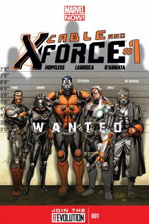 Cable and X-Force #1