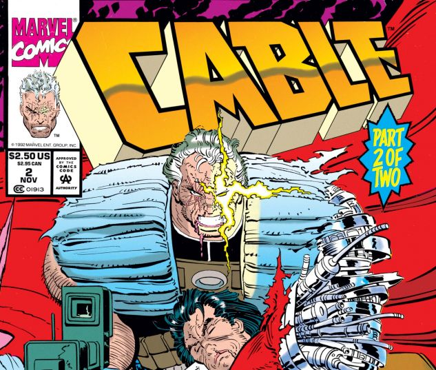CABLE: BLOOD & METAL (1992) #2