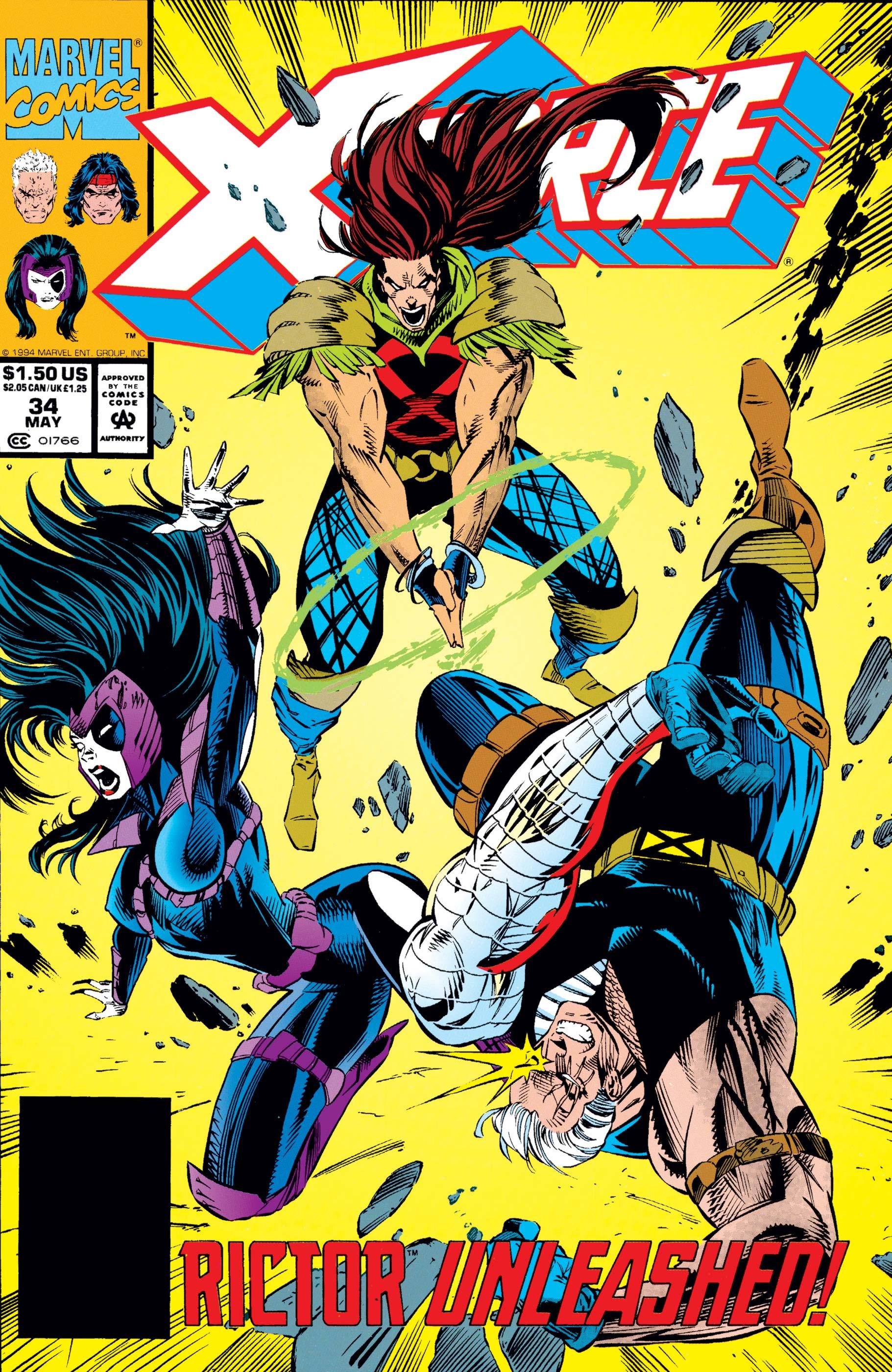 X-Force (1991) #34