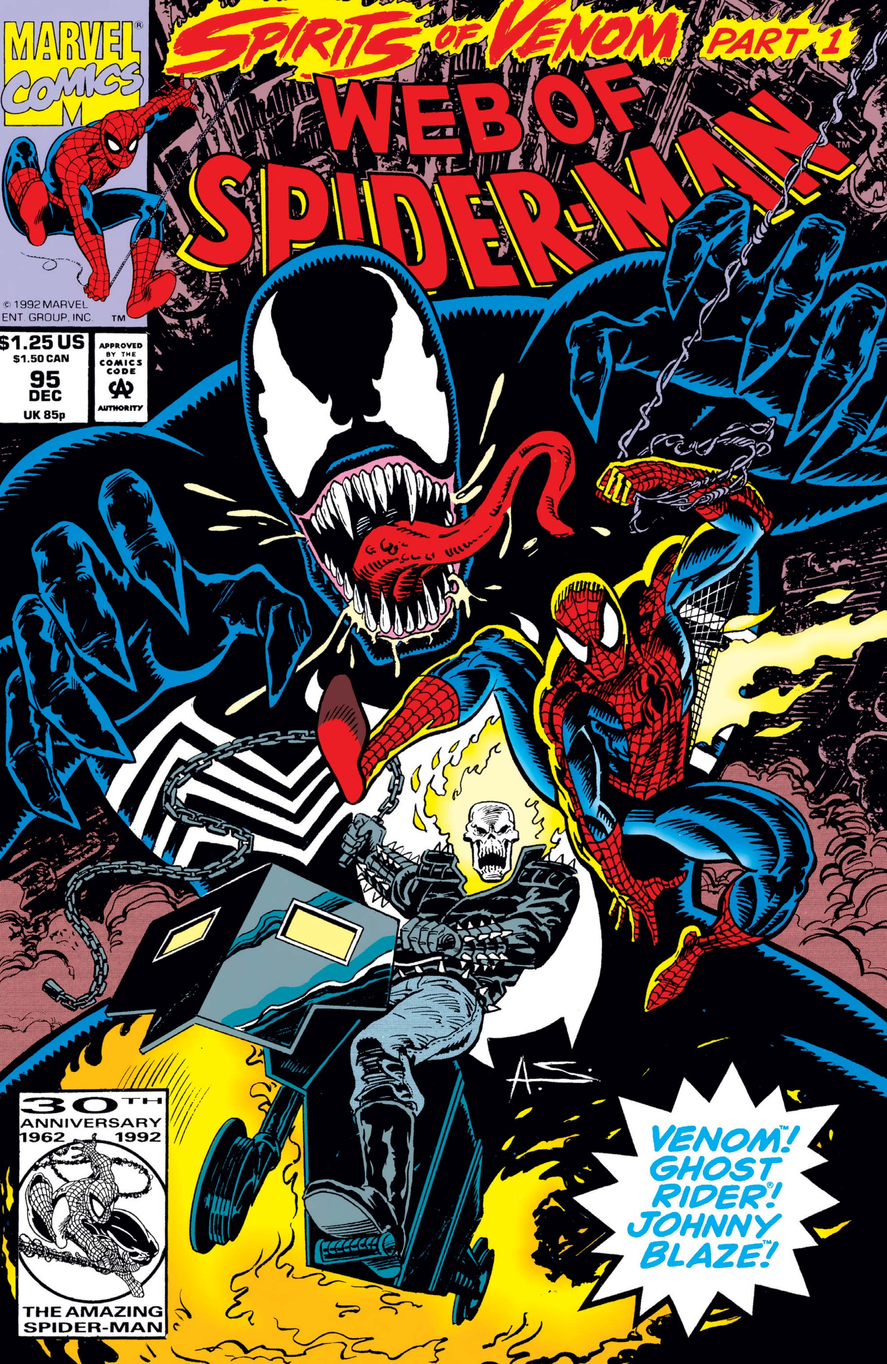 Web of Spider-Man (1985) #95