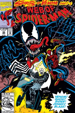 Web of Spider-Man (1985) #95