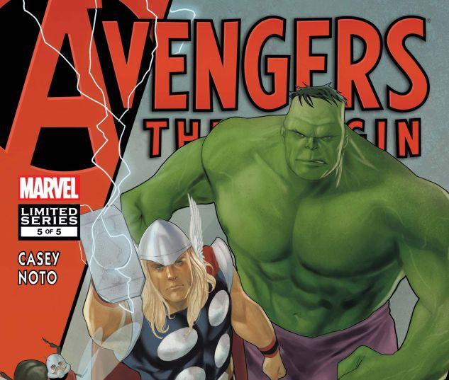 Avengers: The Origin (2010) #5