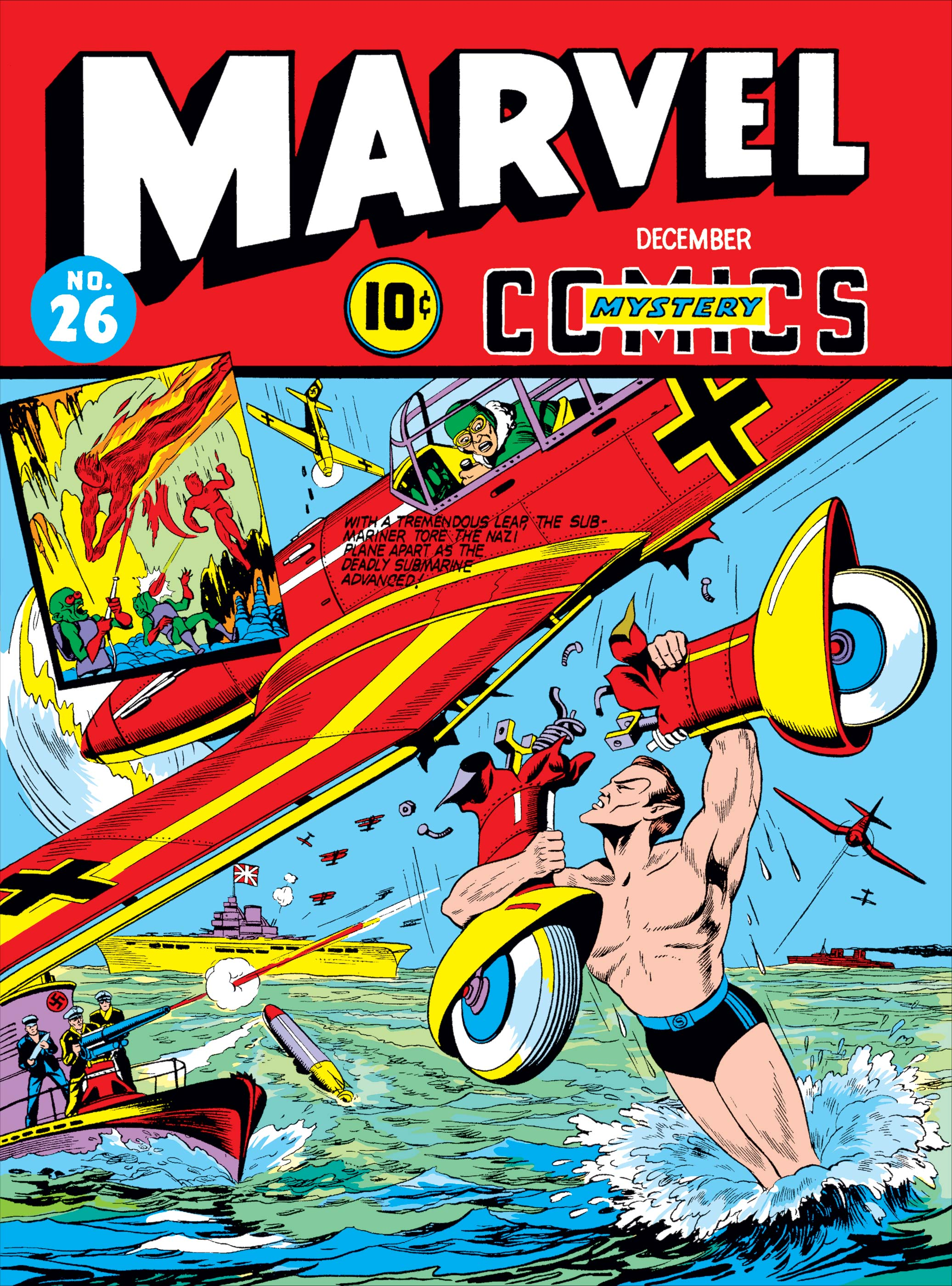 Marvel Mystery Comics (1939) #26