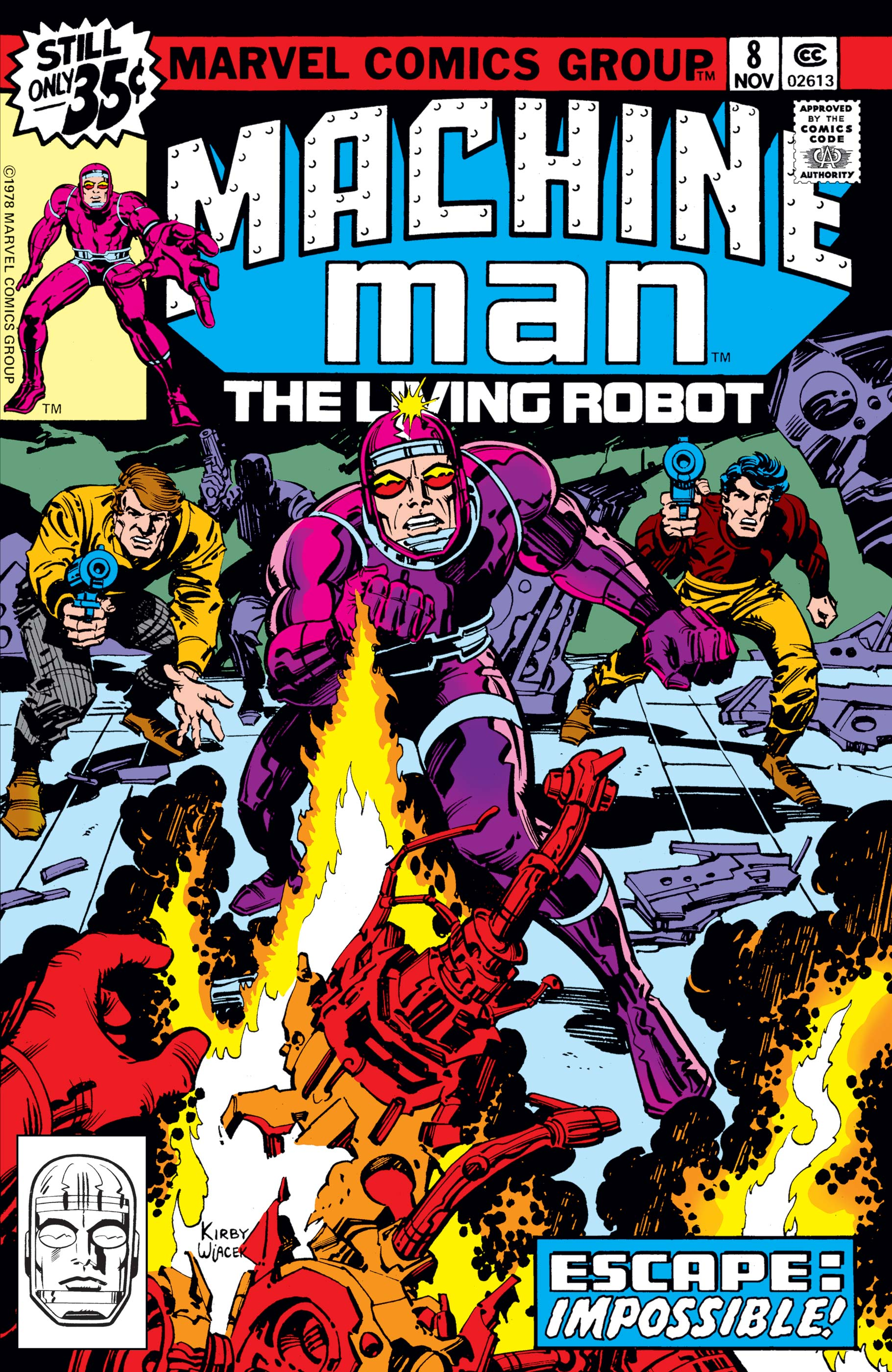 Machine Man (1978) #8