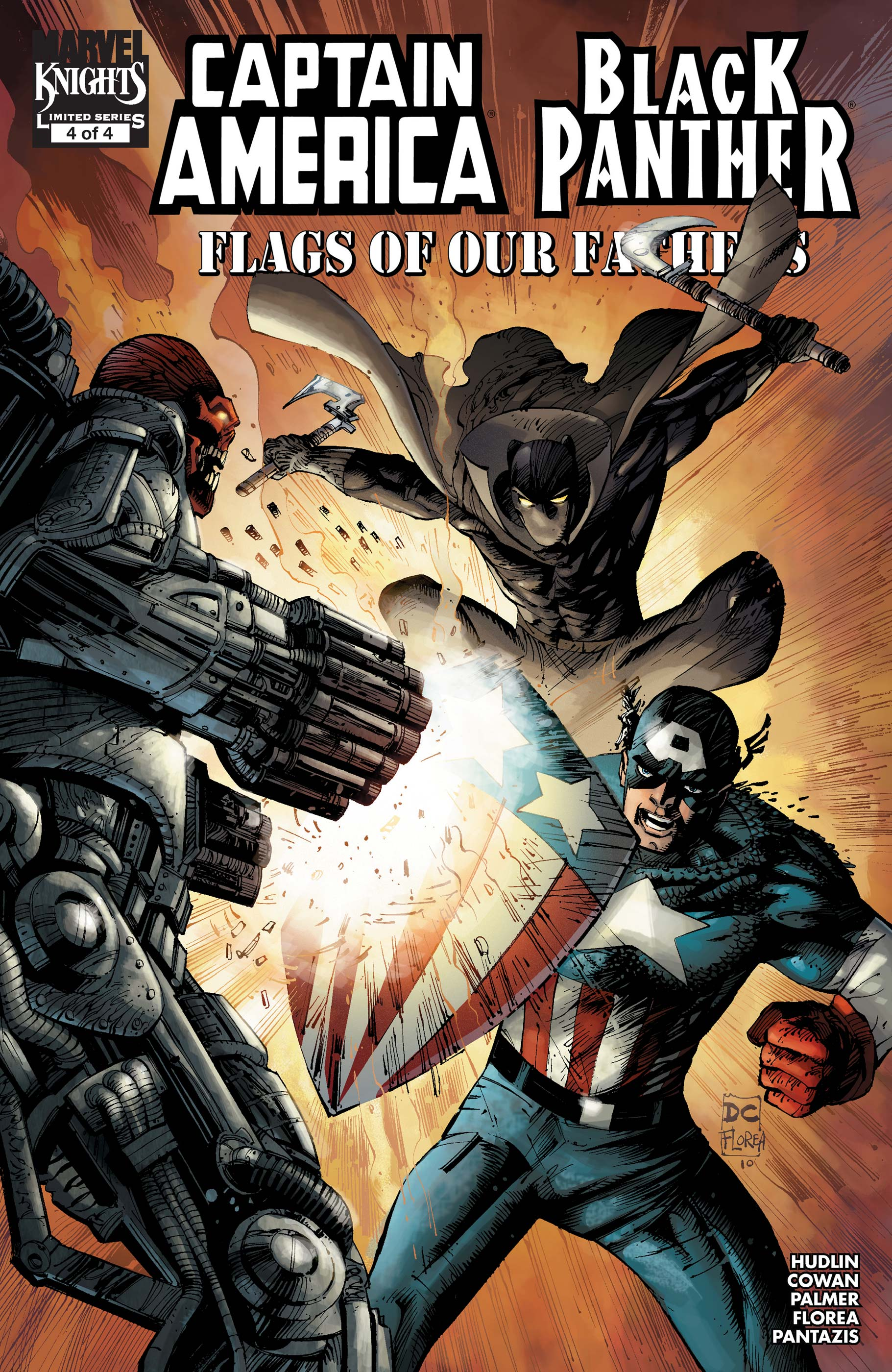 Captain America/Black Panther: Flags of Our Fathers (2010) #4
