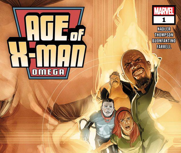AGE OF X-MAN OMEGA 1 #1