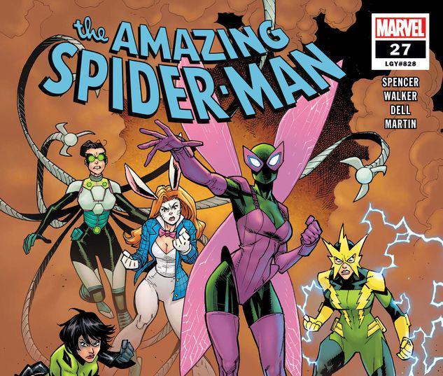 RYAN OTTLEY MAIN COVER AMAZING SPIDER-MAN #28 MARVEL COMICS//2019