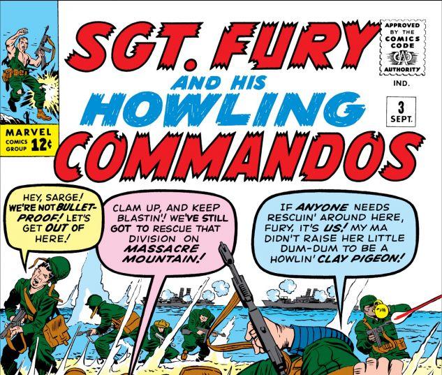 SGT. FURY (1963) #3