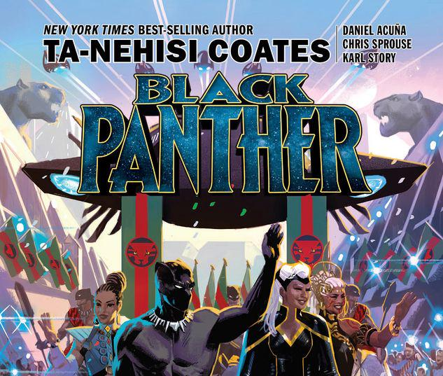 BLACK PANTHER BOOK 8: THE INTERGALACTIC EMPIRE OF WAKANDA PART THREE TPB #8