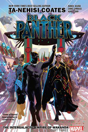 Black Panther Book 8: The Intergalactic Empire Of Wakanda Part Three  (Trade Paperback)