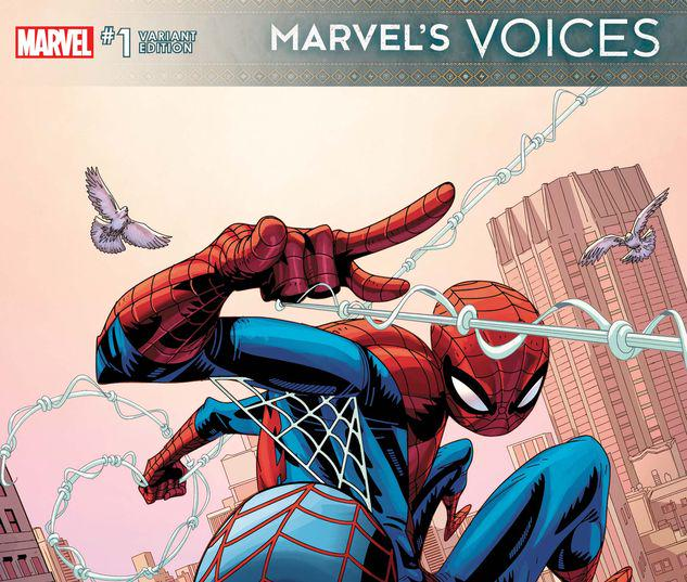 MARVEL'S VOICES 1 SCOTT VARIANT #1