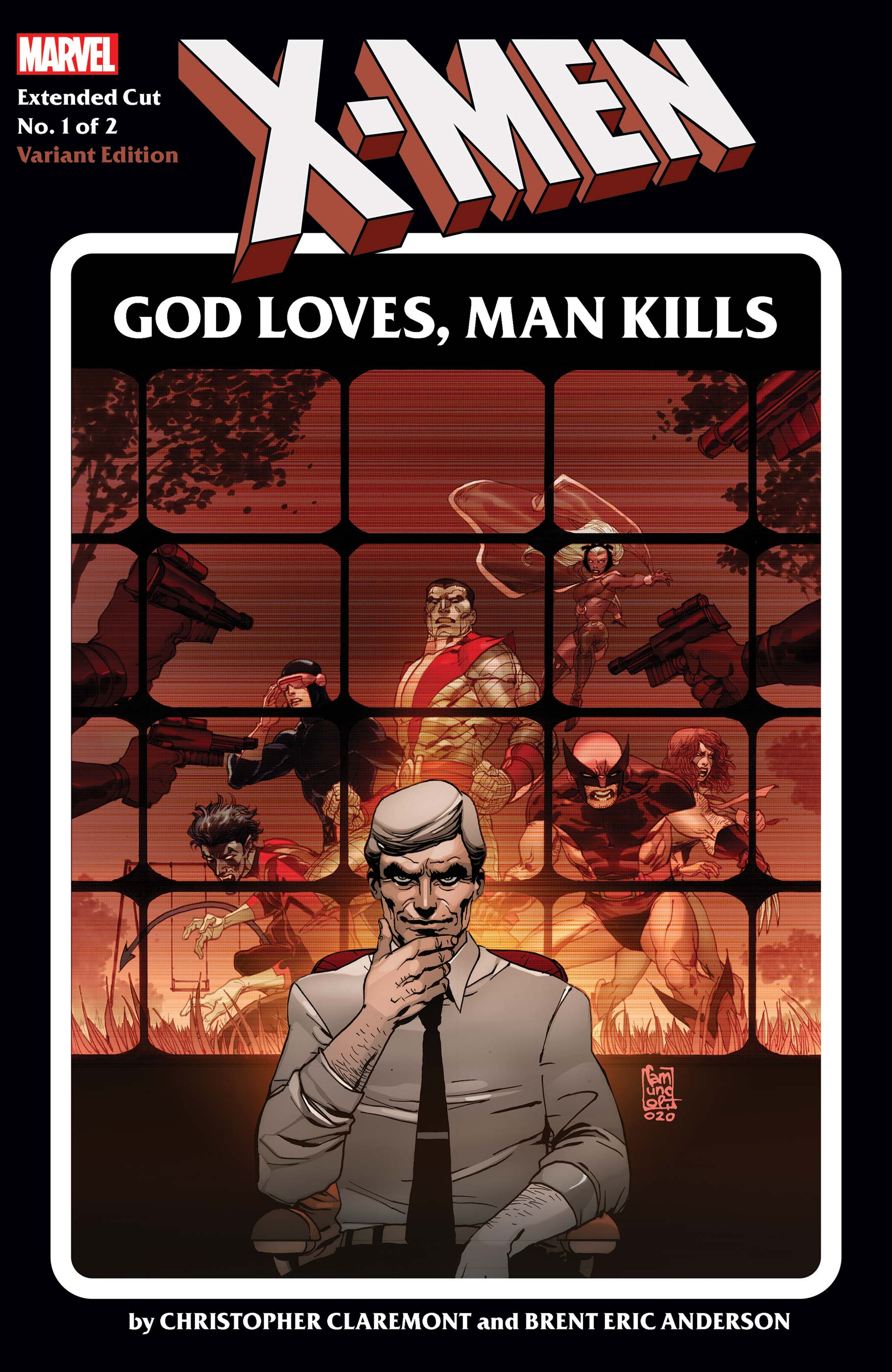 X-Men: God Loves, Man Kills Extended Cut (2020) #1 (Variant)