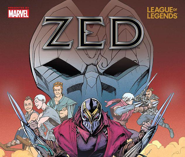 LEAGUE OF LEGENDS: ZED TPB #1