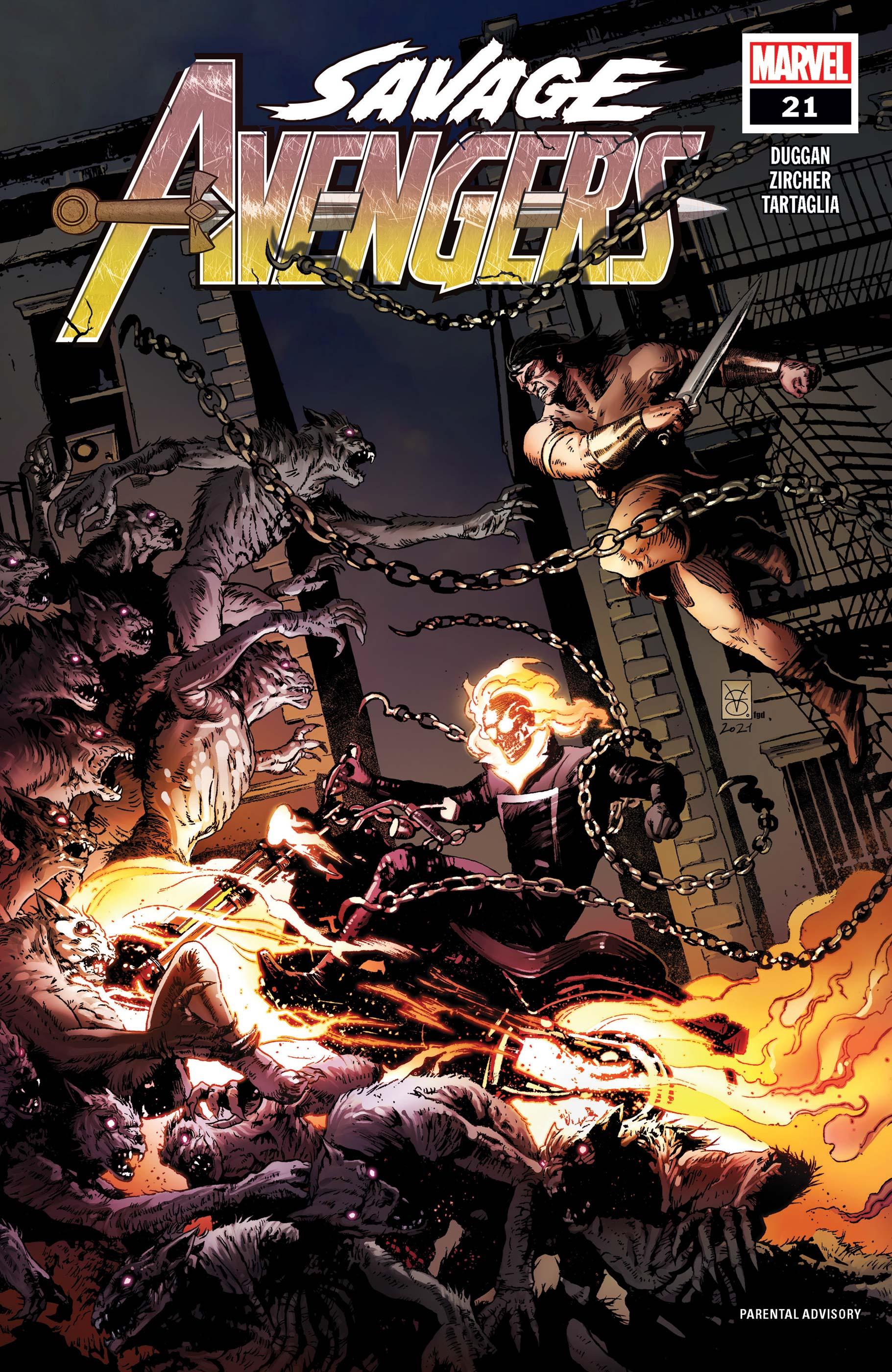Savage Avengers (2019) #21