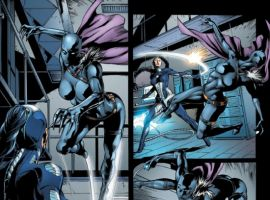 BLACK PANTHER #8, art by Will Conrad