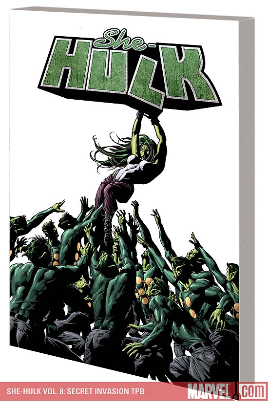 She-Hulk Vol. 8: Secret Invasion (Trade Paperback)