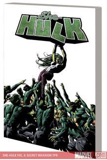 She-Hulk Vol. 8: Secret Invasion (Trade Paperback)