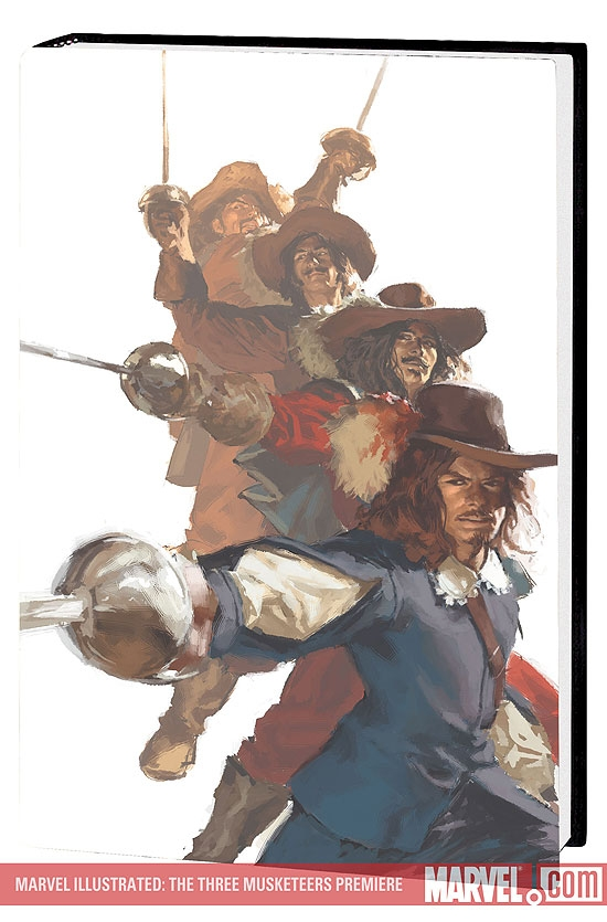 Marvel Illustrated: The Three Musketeers Premiere (Hardcover)