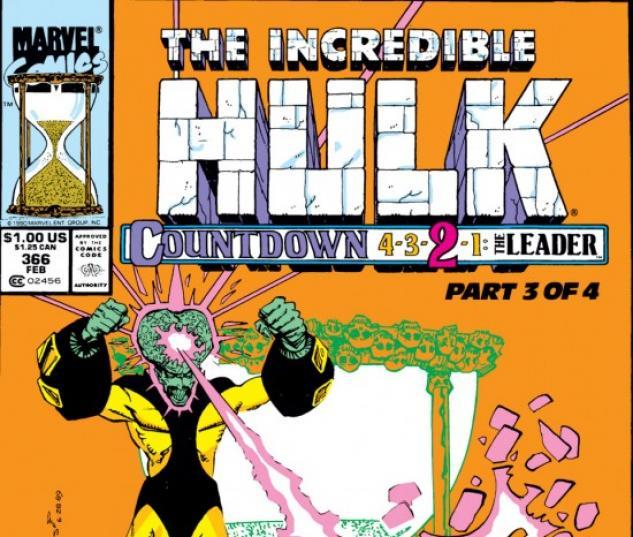INCREDIBLE HULK (2009) #366 COVER