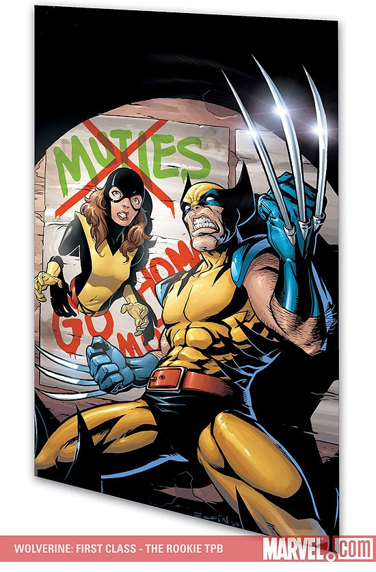 Wolverine: First Class - The Rookie (Trade Paperback)