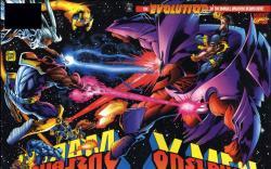 Onslaught: X-Men #1 cover by Adam Kubert