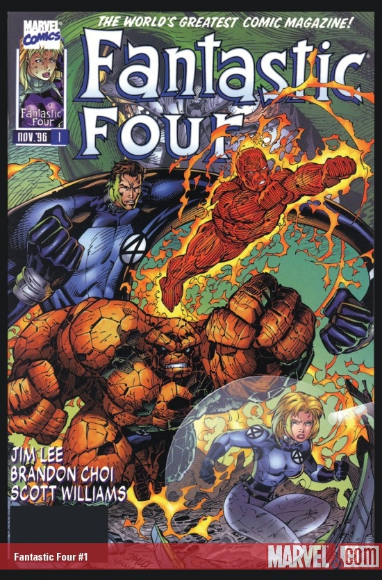 Fantastic Four (1996) #1