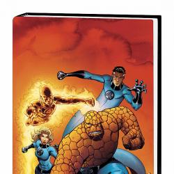 FANTASTIC FOUR VOL. 2 HC COVER