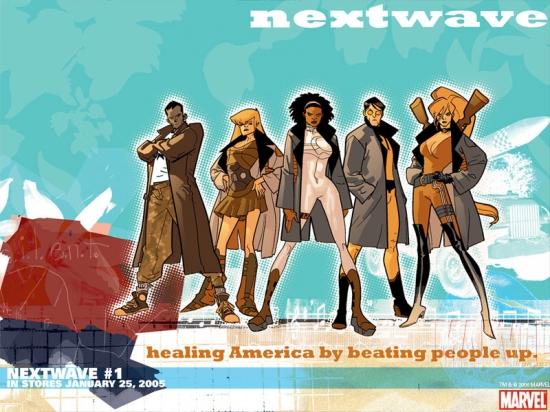 Nextwave: Agents of H.a.T.E. (2006) #1 Wallpaper